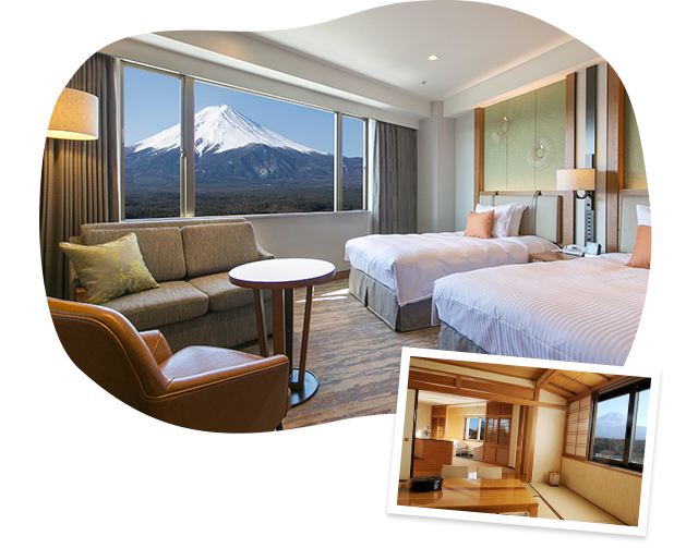Comfortable rooms and beautiful scenery